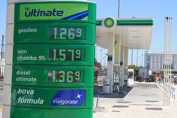 Benzinpreise Tankstelle Portugal
