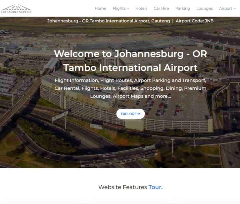 Johannesburg Airport OR Tambo