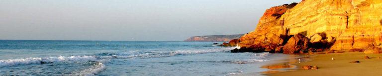 Kueste an der Algarve