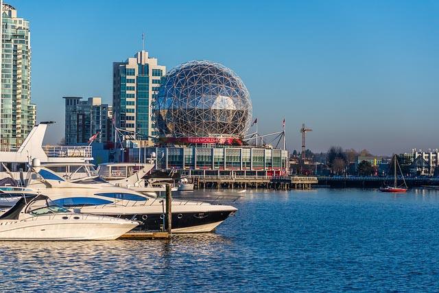 Hafen von Vancouver Mietwagen