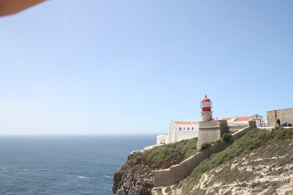 Leuchtturm an Algarve Kueste
