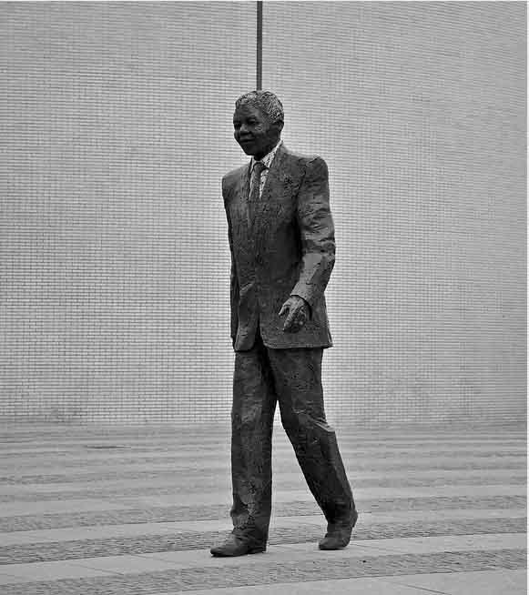 Nelson Mandela Statue Suedafrika