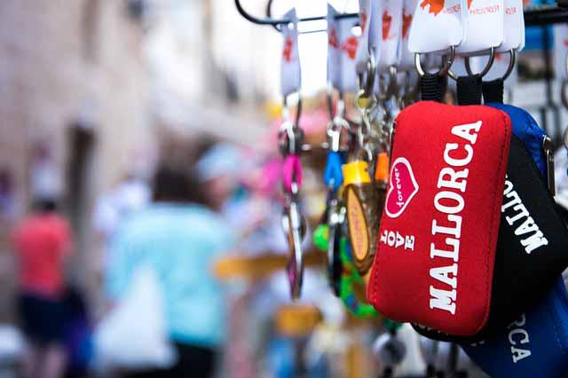 Souvenir in rot von Mallorca