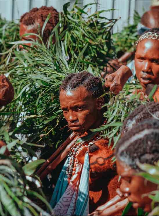 Suedafrika Schwarze Tradition