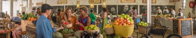 Markt in Suedafrika