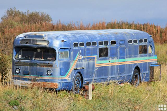 Alter Bus in der Nähe von Dallas