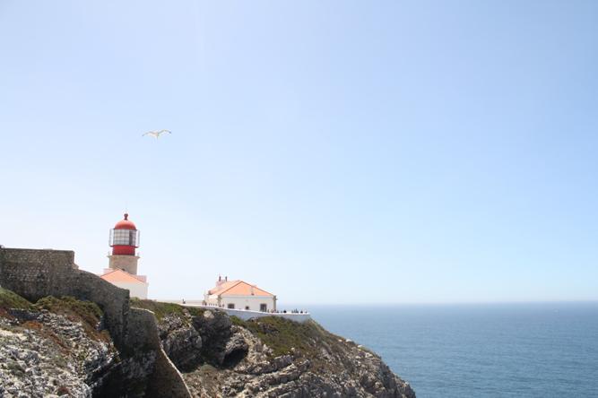Leuchtturm Cabo Sao Vicente Algarve