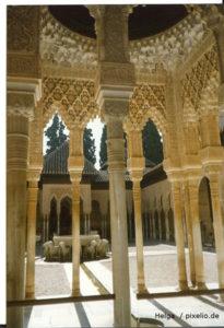 Alhambra Granada, Mietwagen Andalusien