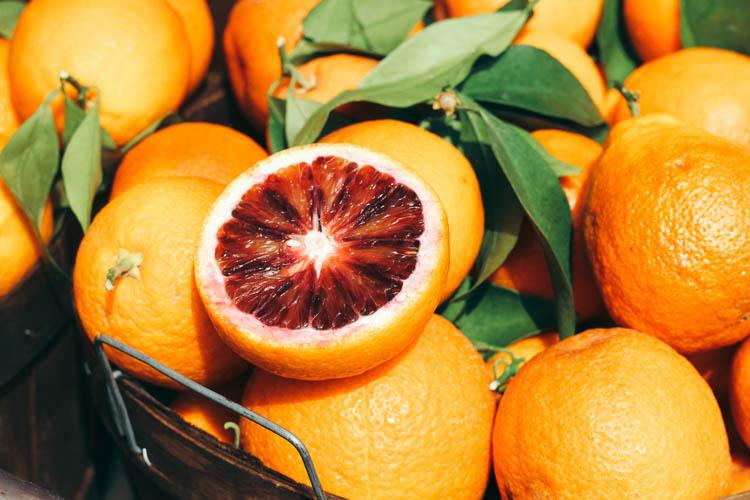 Orangen in Andalusien