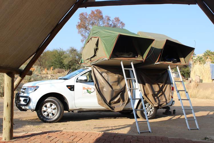 Wohnmobil Namibia