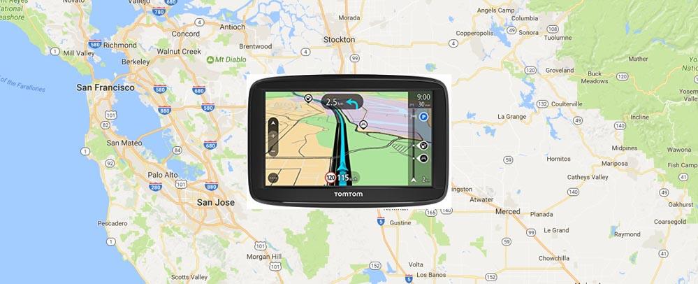 Navigationsgeraet Mietwagen