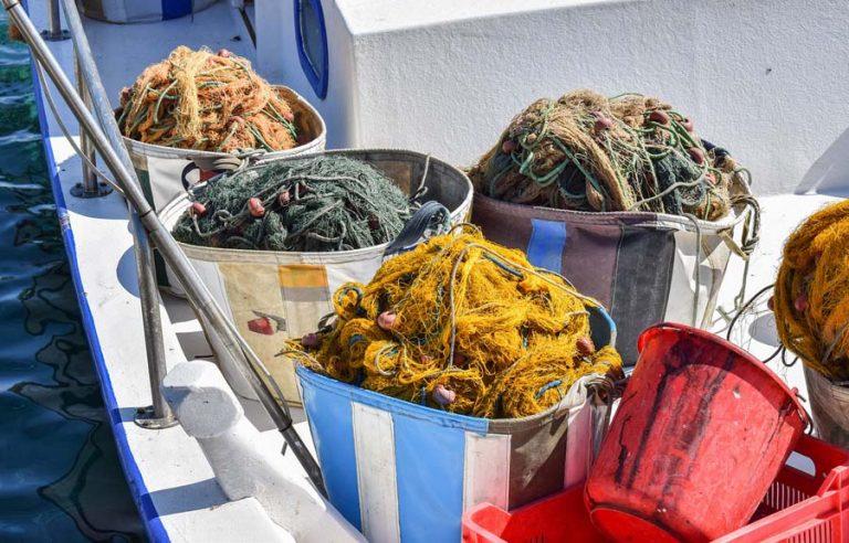 Fischernetze auf Zypern