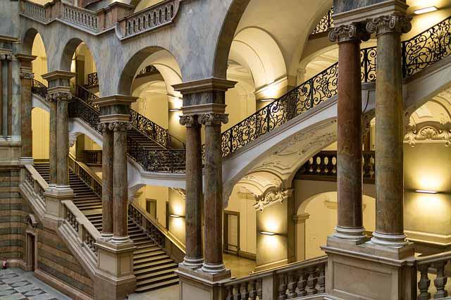 Justizpalast Treppenhaus