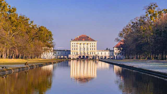 Schloss Nymphenburg in Muenchen