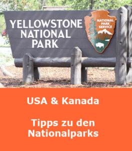 USA und Kanada Nationalparks