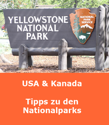 USA und Kanada Nationalparks