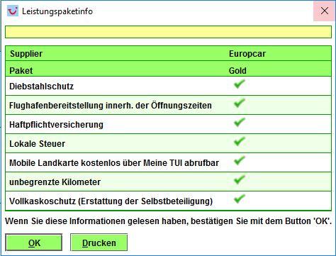 TUI Mietwagen-Preisvergleich Europcar Berlin