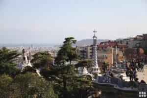 Parc Guell von Gaudi - Mietwagen-Preisvergleich Barcelona