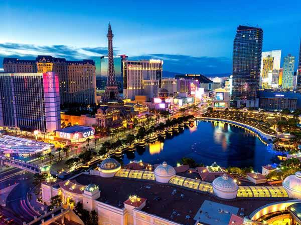 Cityview Las Vegas bei Nacht