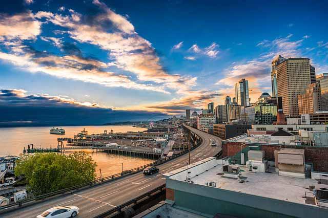 Skyline Seattle Autovermietung