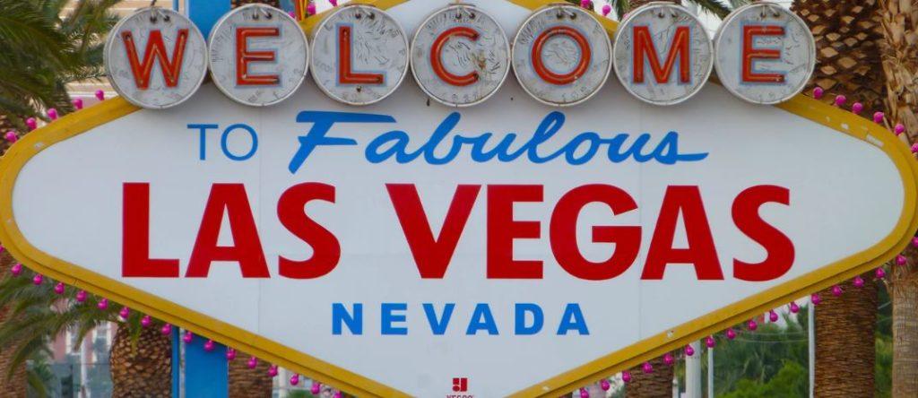 Neonreklame Las Vegas