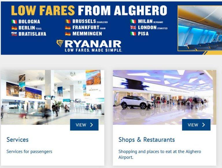 Flughafen Alghero Sardinien