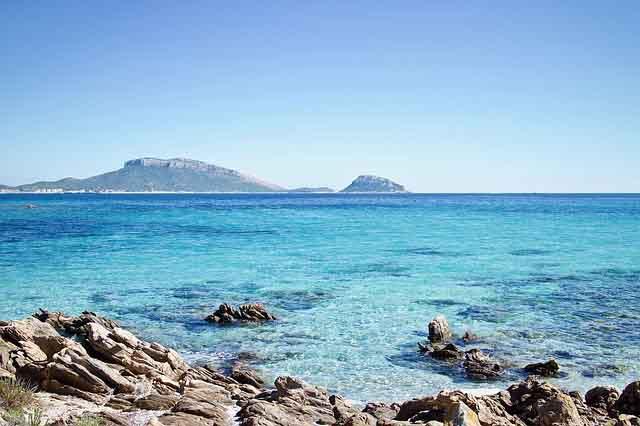 Sardinien Bucht mit Meer