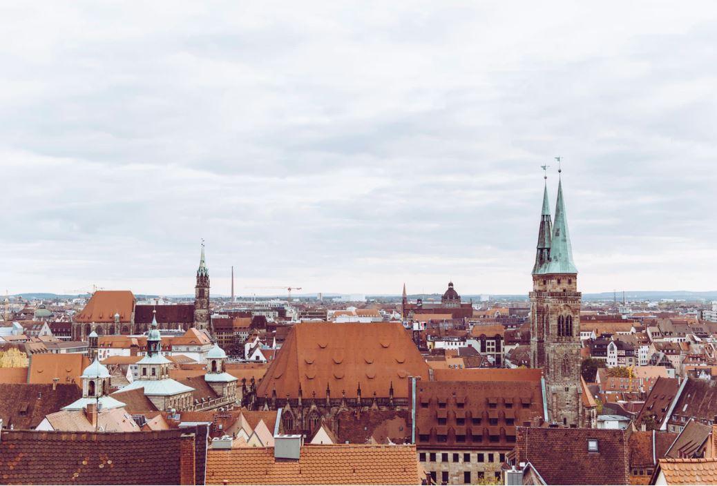 Ansicht auf Nuernberg