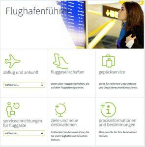 Flughafen Aeropuerto Reina Sofia Teneriffa