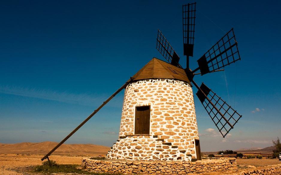 mietwagen fuerteventura preisvergleich windmühle