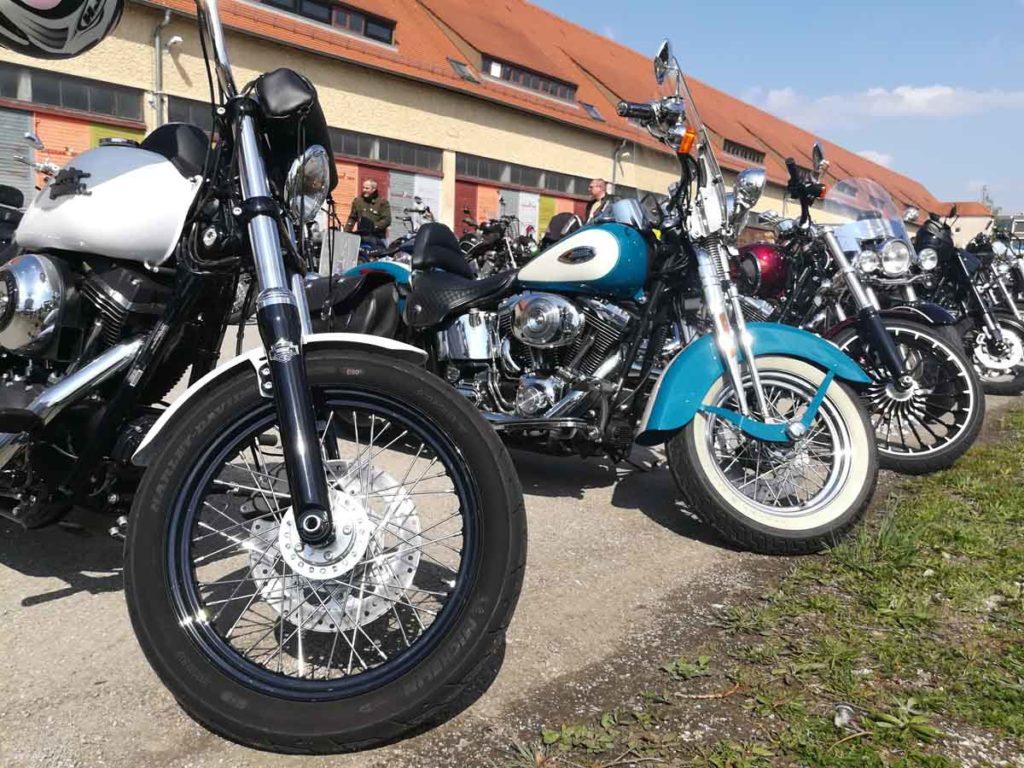 Motorrad mieten Harley Davidson USA