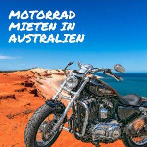 Motorrad mieten Australien