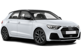 Audi A1 in weiss