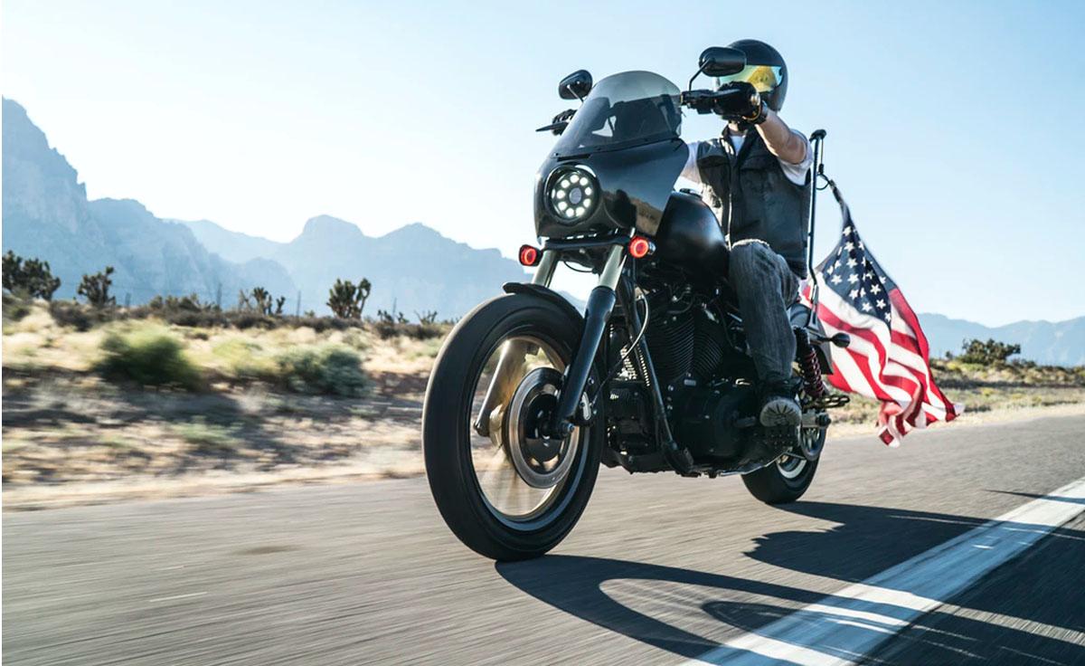 Motorrad leihen USA