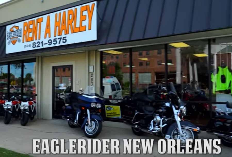 Eaglerider New Orleans Station Motorrad mieten
