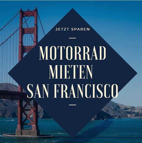 San Francisco Motorrad Golden Gate Bridge Beitragsbild