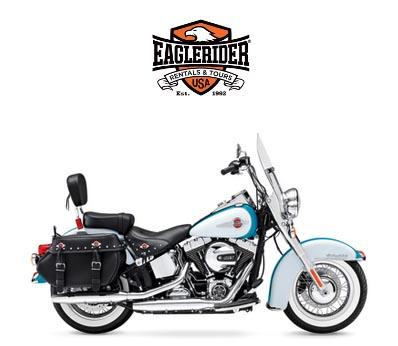 Harley D Heritage Softail Motorrad mieten