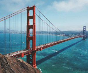 Golden Gate Bruecke San Francisco