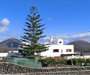 Lanzarote Haus an der Inselstrasse