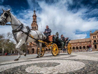 Kutsche in Sevilla