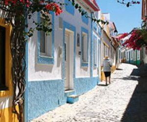 Strassenszene Portugal