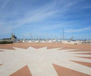 Rimini Plat zmit Stern am Ufer