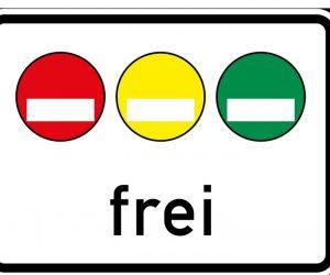 Umweltzonen Verkehrszeichen